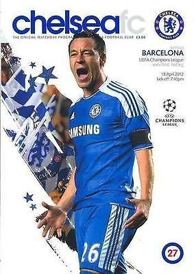 2012 #champions #league semi-final chelsea v barcelona - programme, #ticket & fla,  View more on the LINK: 	http://www.zeppy.io/product/gb/2/201653687719/