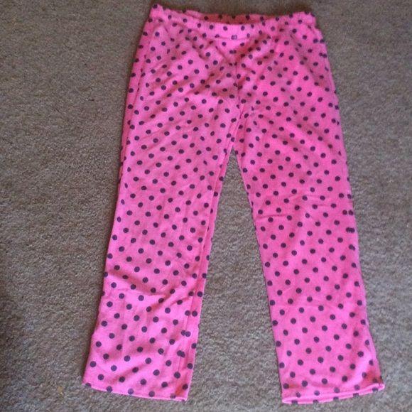 Pajama pants Pink and purple polka dot pajama pants Xhilaration Intimates & Sleepwear Pajamas