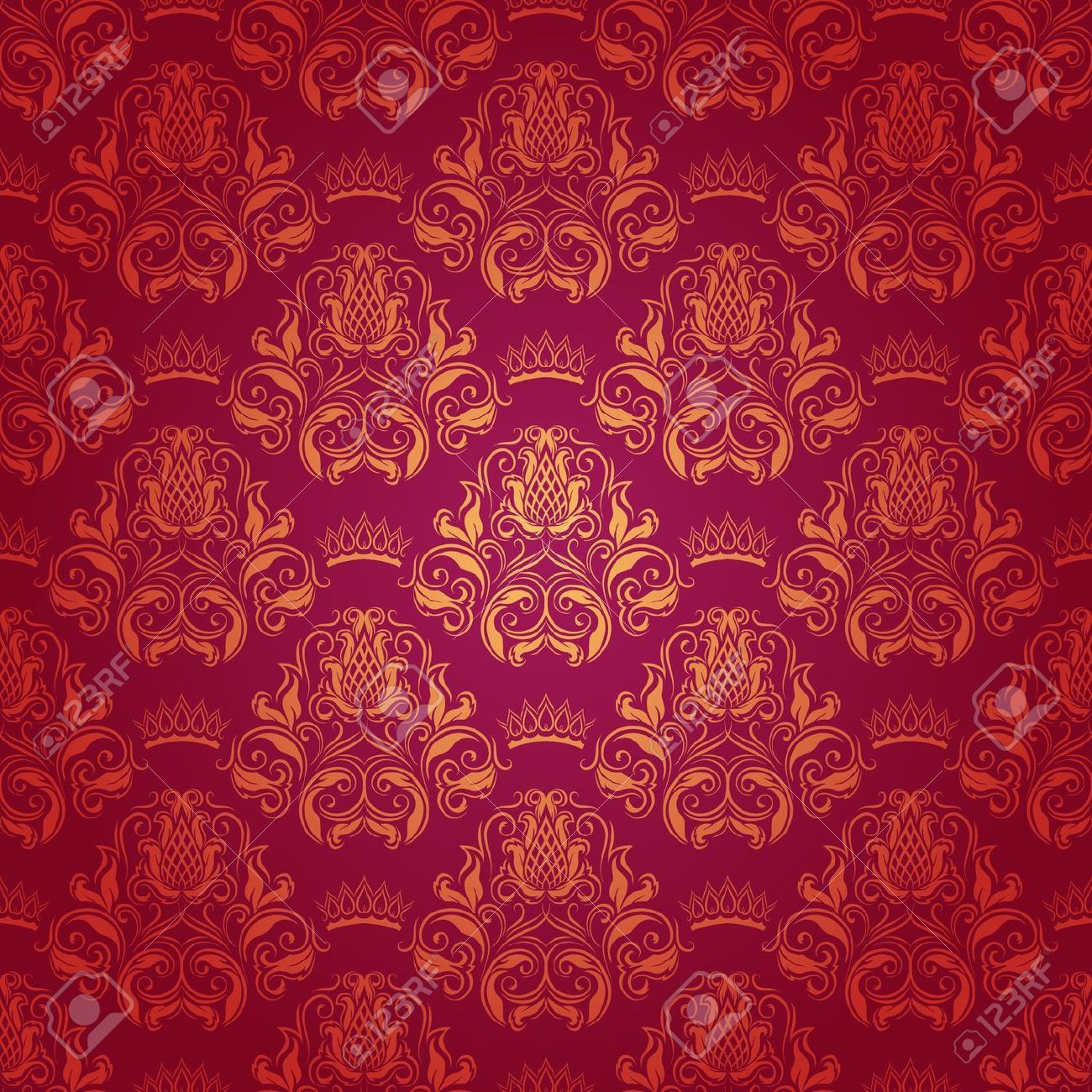 Pattern Red Floral Wallpaper Collection 11 Wallpapers