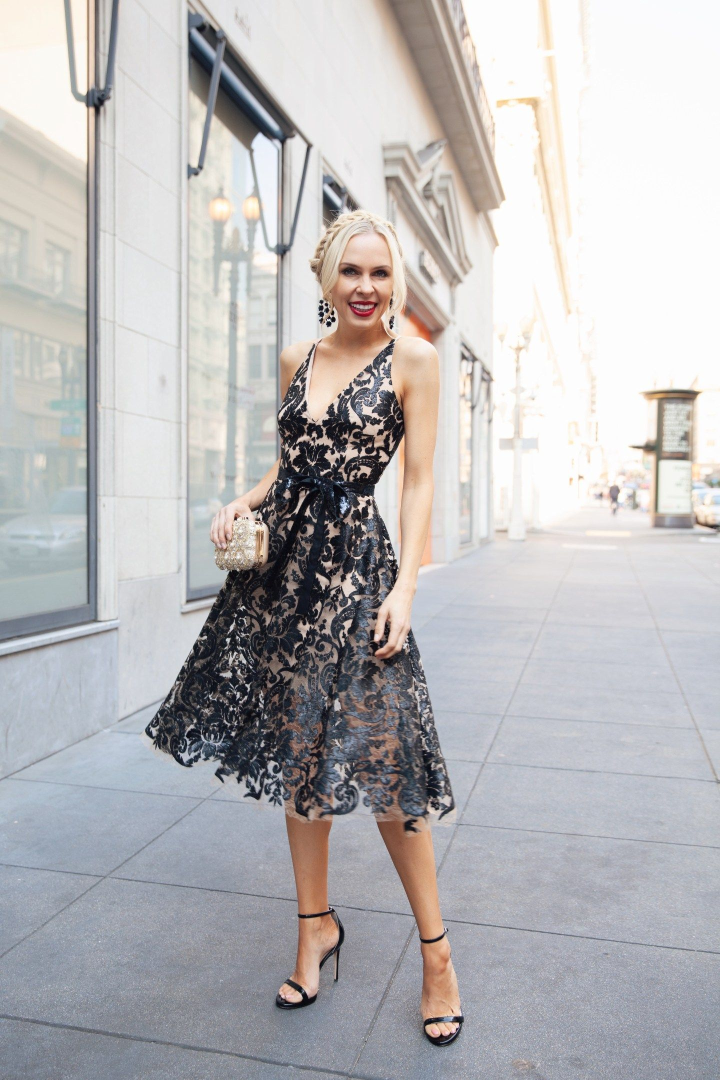 45fc9b723b Day Two - The Perfect Sequin Party Dress | Lombard & Fifth | Sequin ...