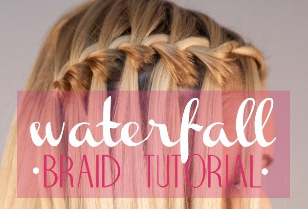 Waterfall Braid Tutorial Step by Step - Learn how to do ...