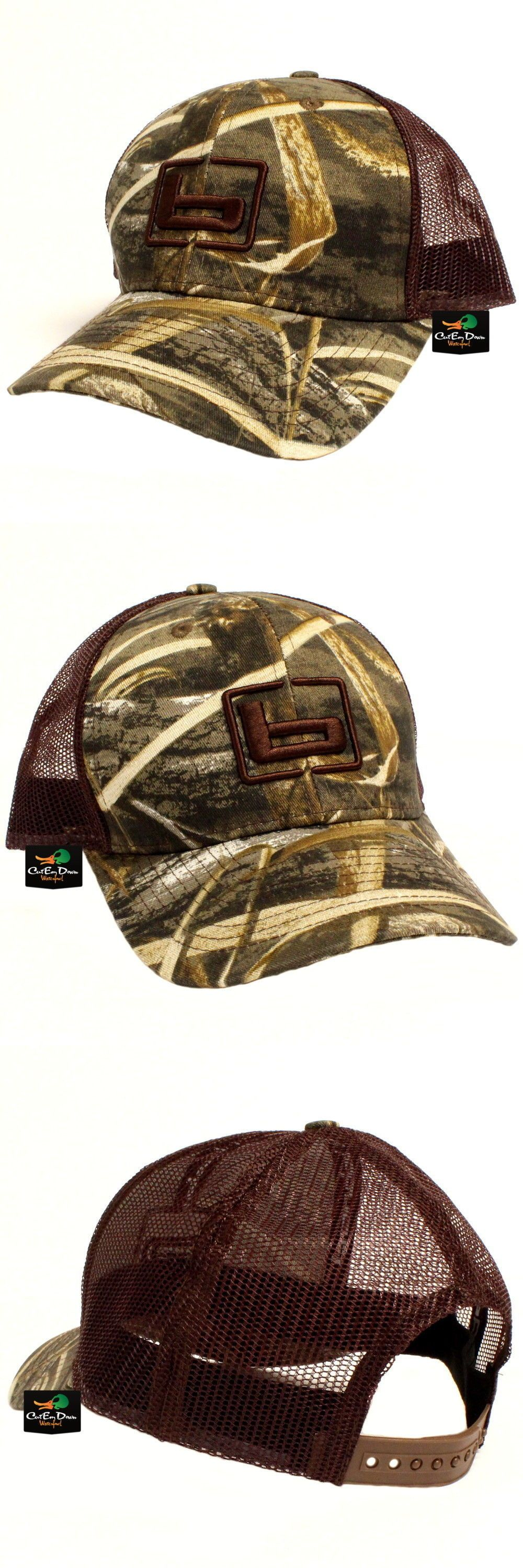 Clothing Shoes and Accessories 36239  New Banded Gear Trucker Cap Hat Max-5  Camo Brown Mesh W B Logo Adjustable -  BUY IT NOW ONLY   18.9 on  eBay   clothing ... b74c3612838e