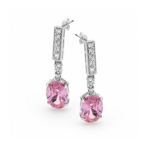 Details about  /Trendy Ear Stud Crystal Barbell New Gift Ladies Vintage Plant Bean EarringS KV