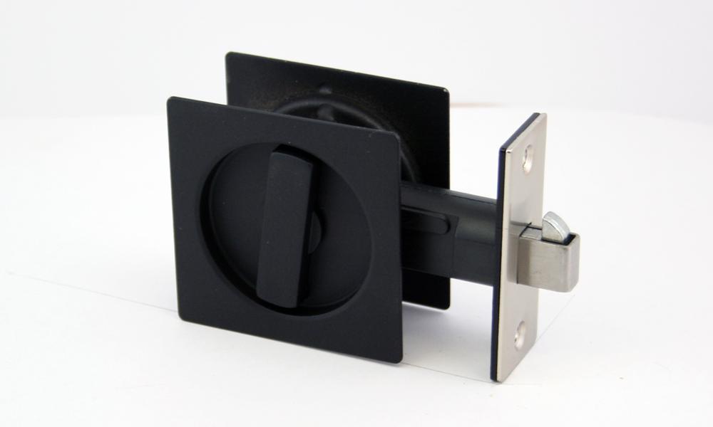 Matte Black Sq Cavity Slider Lock [BL-SQ-CSL]  The Lock  sc 1 st  Pinterest & Matte Black Sq Cavity Slider Lock [BL-SQ-CSL] : The Lock and ... pezcame.com