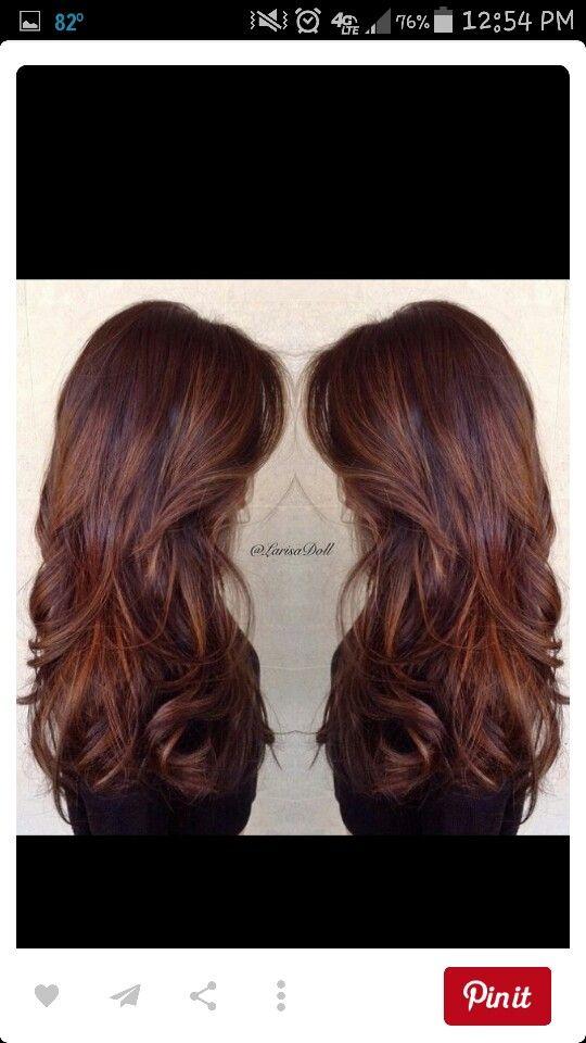 Getting this soon! Brown to auburn hair. Auburn hair. With ...