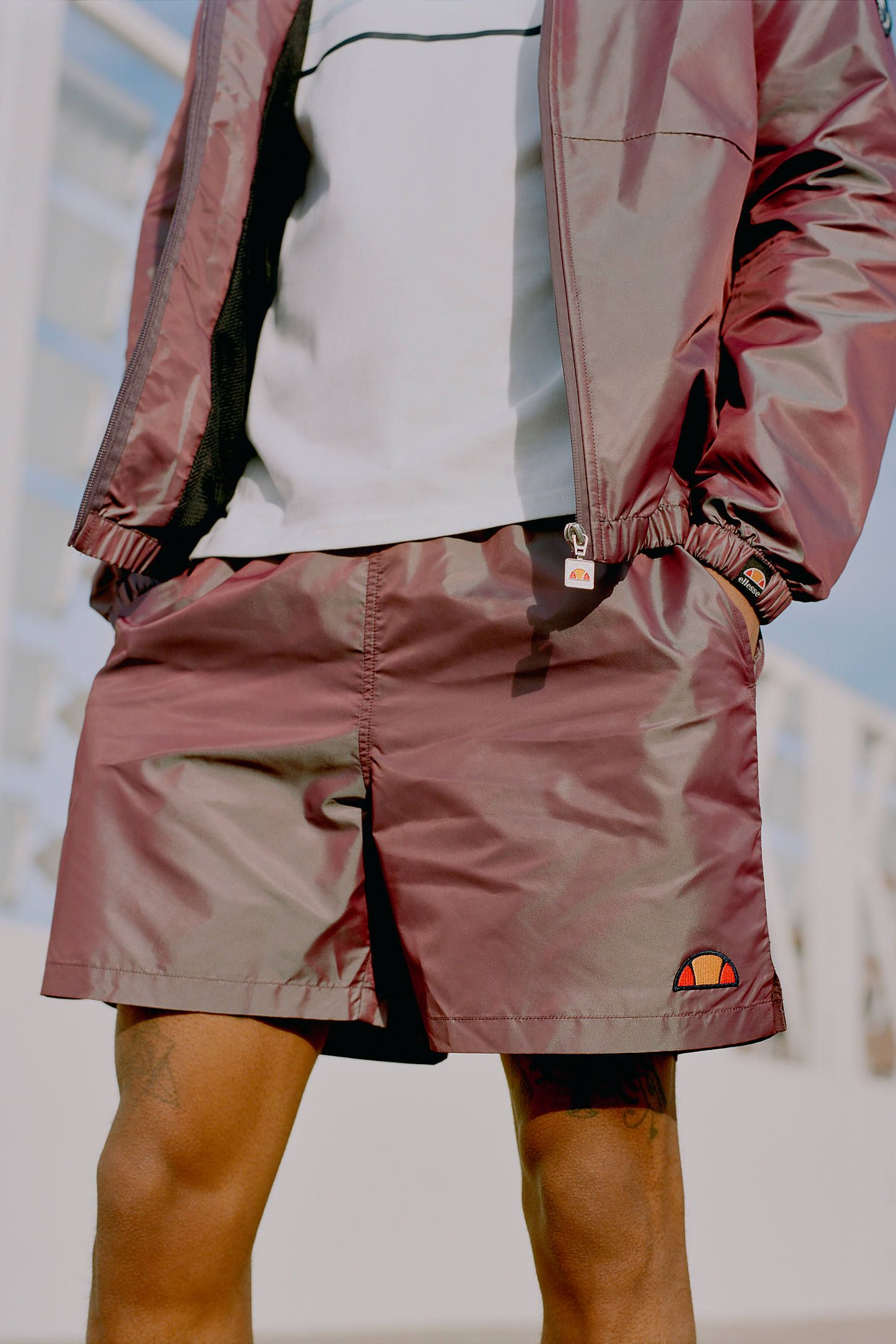 8320a0b33e ellesse UO Exclusive Iridescent Tennis Short in 2019 | Spring/Summer ...