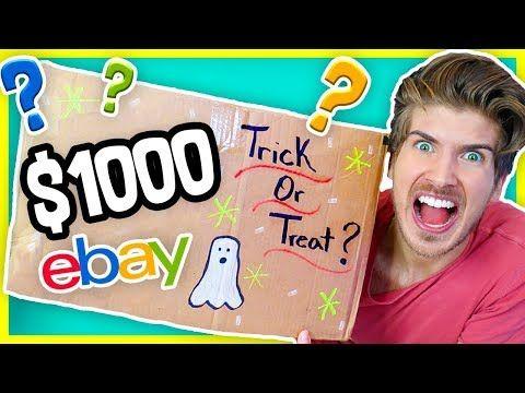 I Bought A 1000 Ebay Mystery Box Massive Giveaway Youtube Mystery Box Ebay Mystery