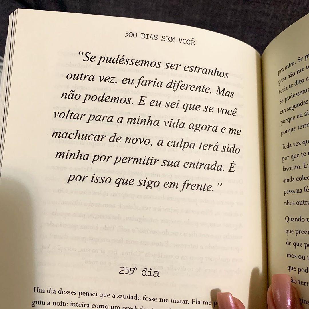 Por Samantha Silvany On Instagram Trecho Do Meu Livro 500 Dias