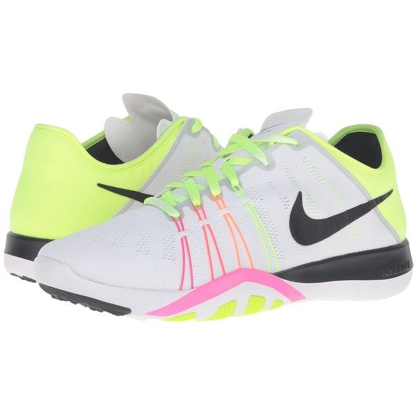 9f16ccee0d3 Nike Free TR 6 OC (Multicolor White Multicolor) Women s Shoes ( 100) ❤  liked on Polyvore featuring shoes