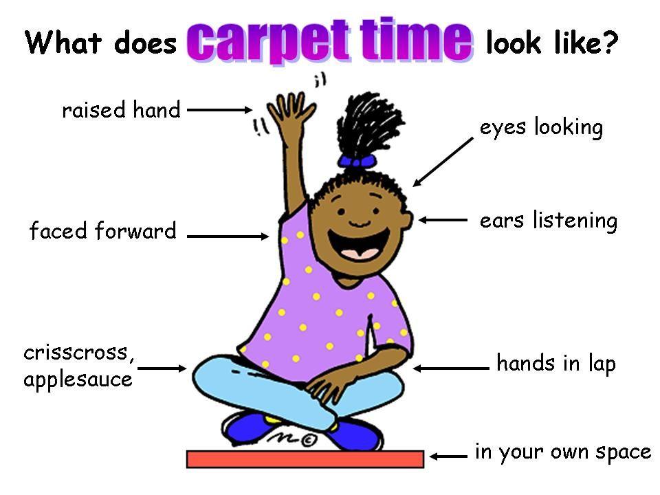Carpet time poster | School- MANAGEMENT | Pinterest | Carpets and ...