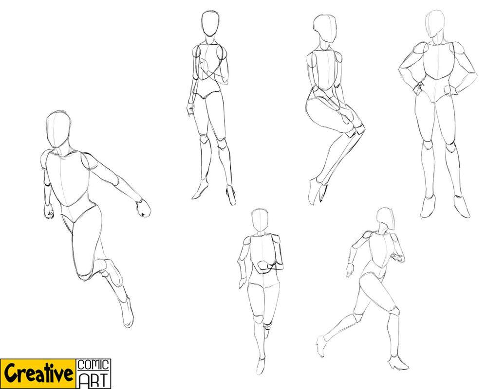 Basic Human Figure Drawing Basics Part 1 Creative Comic Art