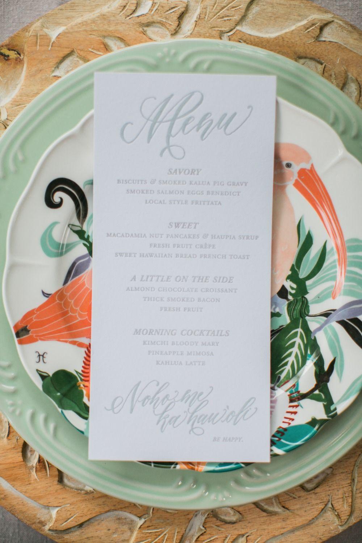 Hawaiian Boho Garden Wedding Inspiration | Garden wedding ...