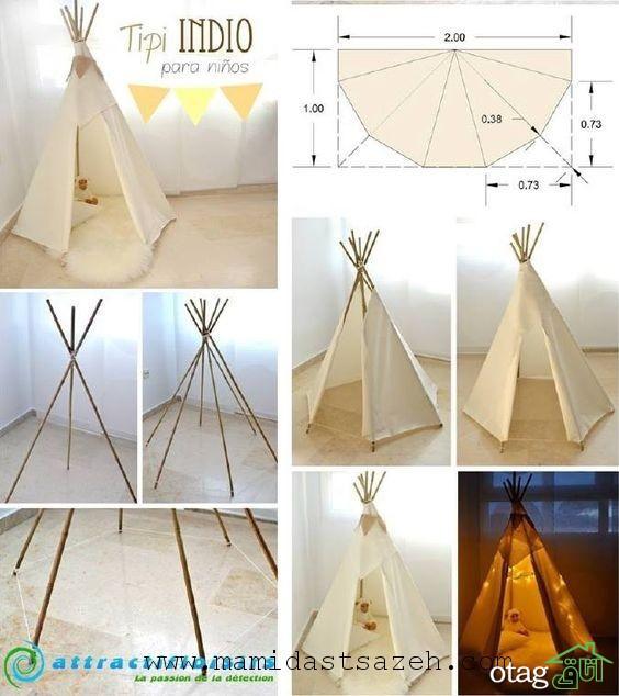 چند ایده و ترفند برای چیدمان اتاق کودک با وسایل ساده In 2020 Diy