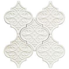 byzantine florid arabesque bianco ceramic tileoption 1 this will every