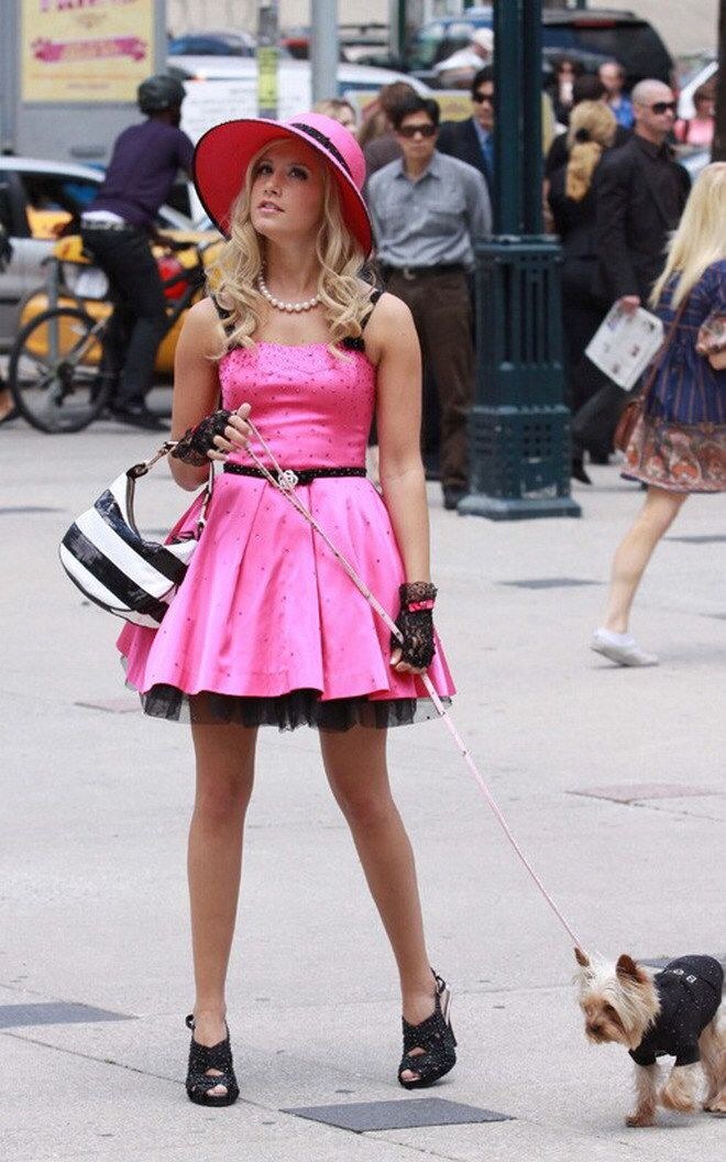 Sharpay Evans sparkly pink dress | Sharpay Evans in PINK | Pinterest ...