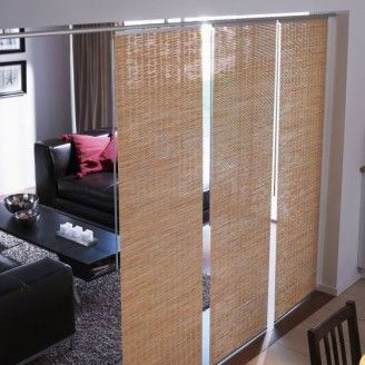 Bamboo panels ikea room divider alanna pinterest for Biombo bambu ikea