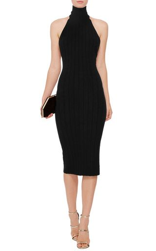 3c8344493208 Sleeveless Turtleneck Midi Dress by Cushnie et Ochs Now Available on Moda  Operandi