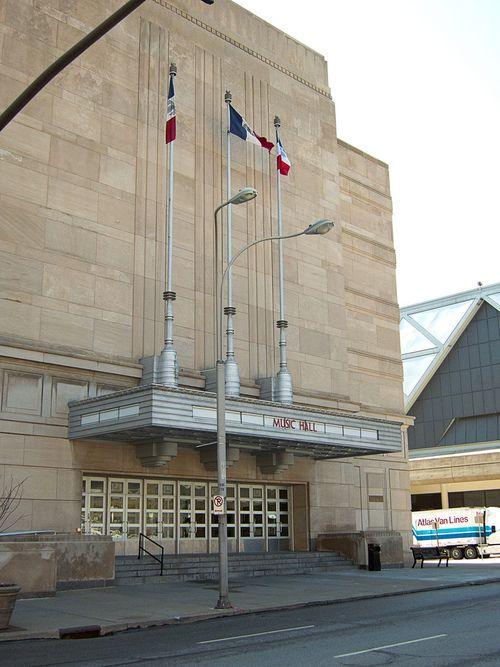 Music Hall Municipal Auditorium Kansas City Missouri Jeff Bridges