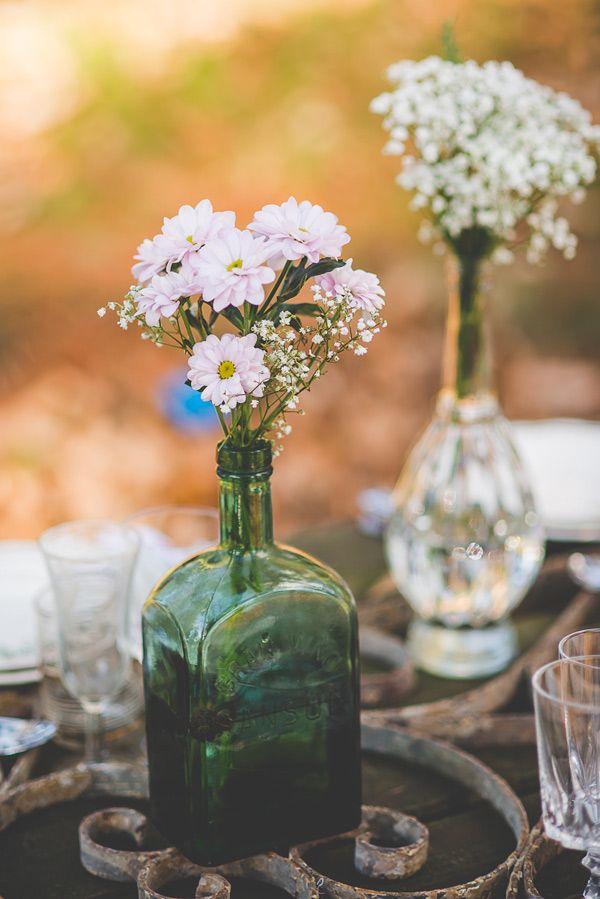 Una boda sencilla con mucho estilo #boda #inspiración andrea - bodas sencillas