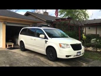 Town And Country Camper >> 2008 Chrysler Town Country Minivan Camper Youtube More Van