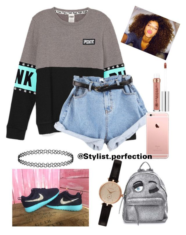 """Wass poppin"" by mindlesslovinforever21shoppinjaz on Polyvore featuring Chiara Ferragni, Barbour and Anastasia Beverly Hills"