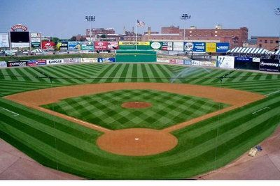 To Get Me To Mow The Lawn My Dad Would Tell Me To Mow It So It Looked Like A Baseball Diamond That Meant Mowing It Twice To Get Th Lawn