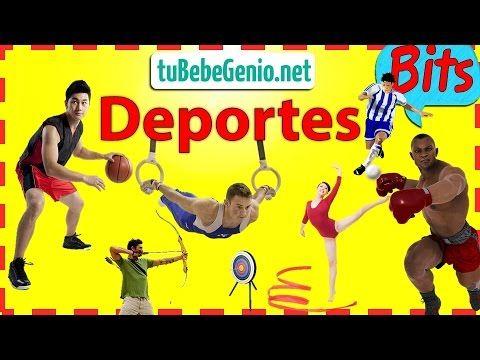 Los Deportes Para Niños | Videos Didacticos Para Niños |Bits De Intelige...