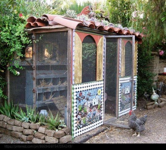 Renée Finberg ' TELLS ALL ' in her blog of her Adventures in Design: Fabulous Chicken Coops