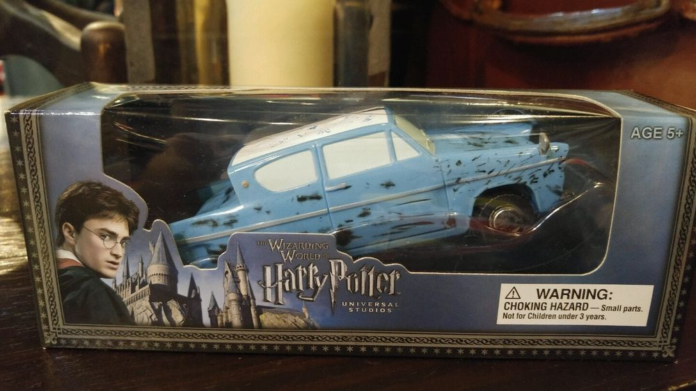Wizardingworld Of Harrypotter Bump N Go Ford Anglia Battery Operated Toy Car For Sale In My Ebay Wizarding World Toy Cars For Sale Battery Operated Toys