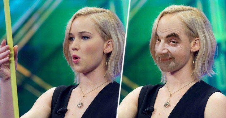 Divertida batalla de Photoshop con Jennifer Lawrence sosteniendo una cinta métrica - http://soynn.com/2016/04/16/divertida-batalla-de-photoshop-con-jennifer-lawrence-sosteniendo-una-cinta-metrica/