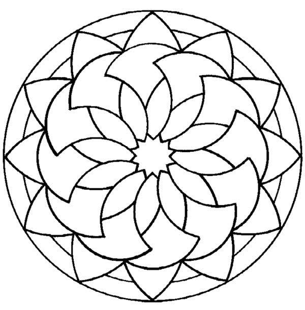 Modelemandalap   mosaiquismo   Pinterest   Mandalas, Mosaicos y Bordado