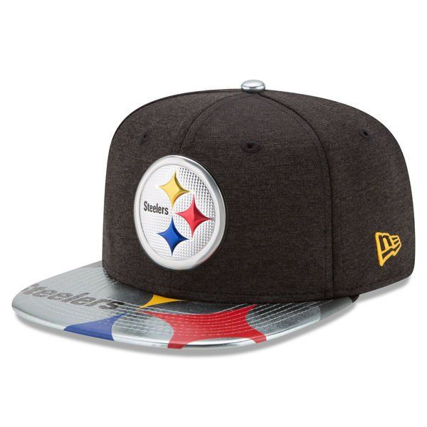 77e23de7dc7 Pittsburgh Steelers New Era 2017 NFL Draft On Stage Original Fit 9FIFTY  Snapback Cap
