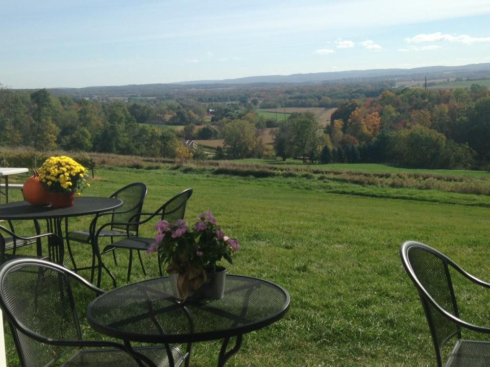 Baraboo Bluff Winery Wisconsin dells, Great view