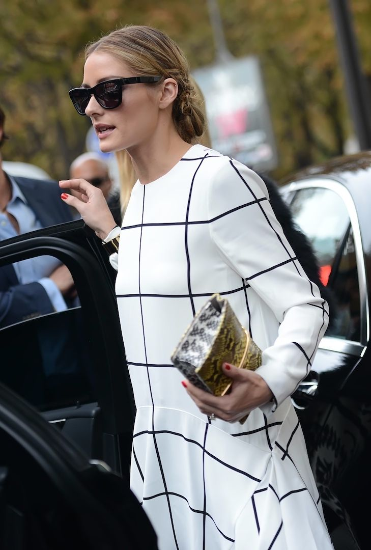 Olivia Palermo in Paris. #PFW