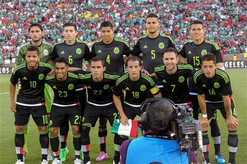 Mexico National Team Copa Oro a07b929e3