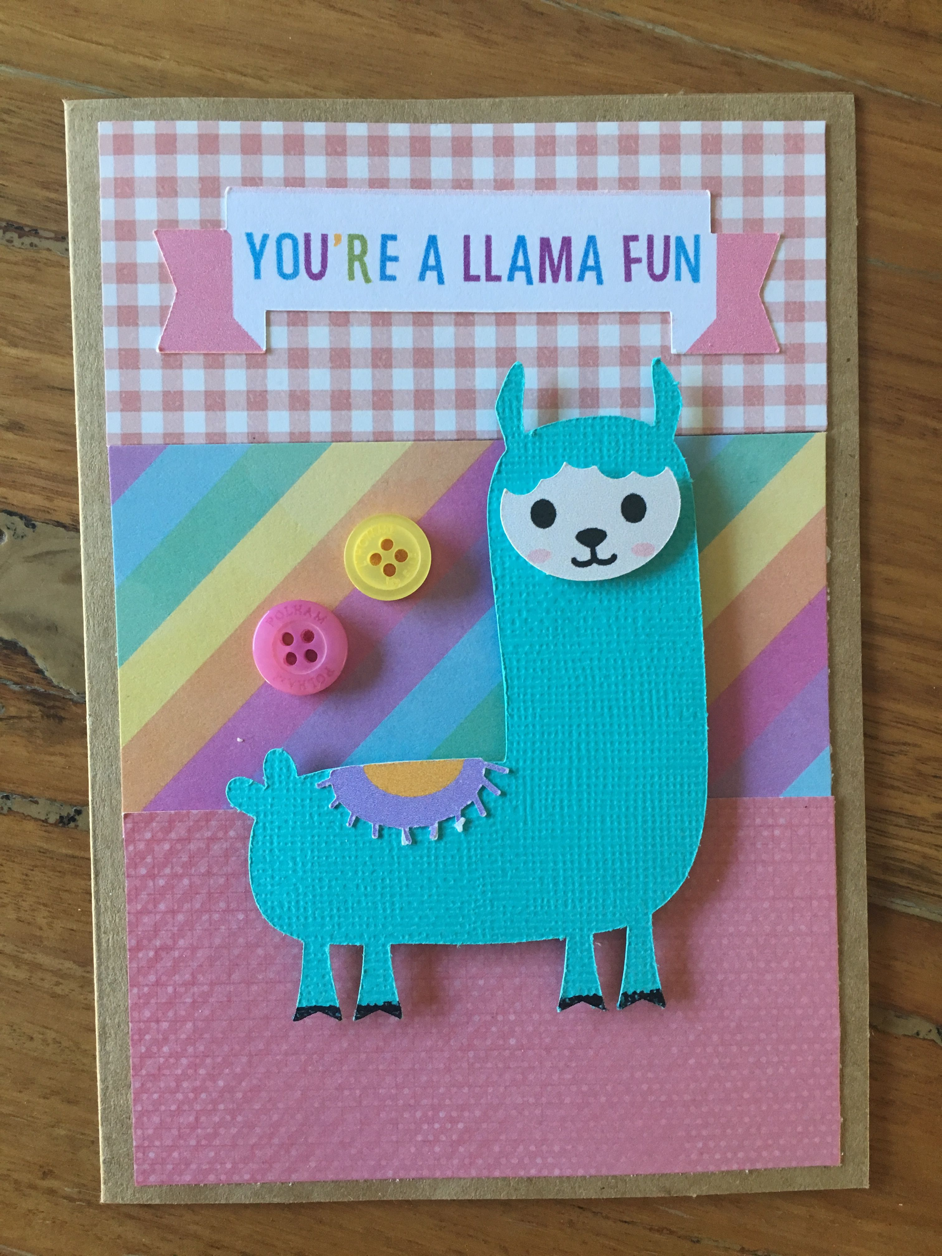 Llama Valentine S Day Card Pun Handmade Svg Cutting Files Sanqunetti