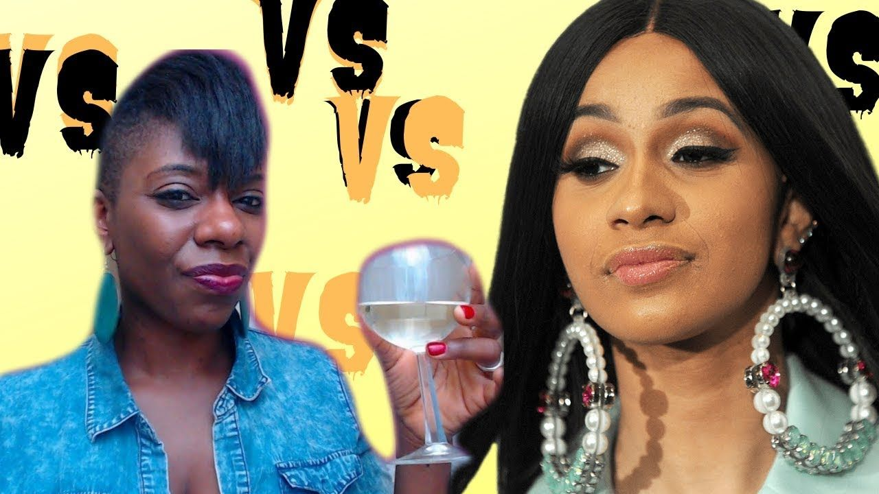 Model Sues Rapper Cardi B Over Naughty Album Cover: Cardi B. Threatens To SUE Un -wine -with- Tasha -K On IG
