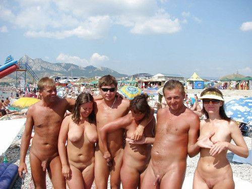 Naked on pub pics
