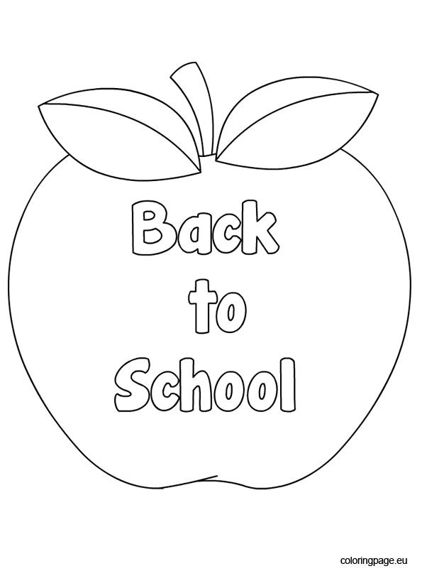 Back To School Coloring Pages 2011