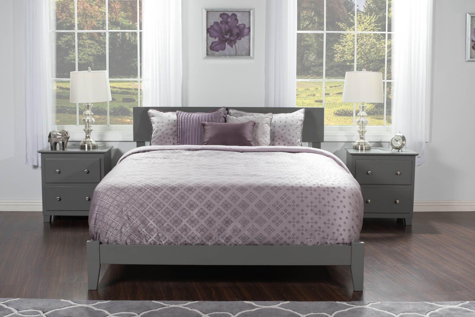 Orlando Traditional Bed Traditional Bed Atlantic Furniture King Platform Bed