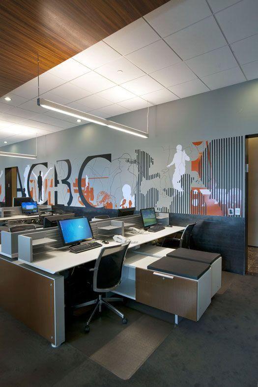 Modelos de decora o de escrit rio corporativo mais - Modelos de escritorios ...