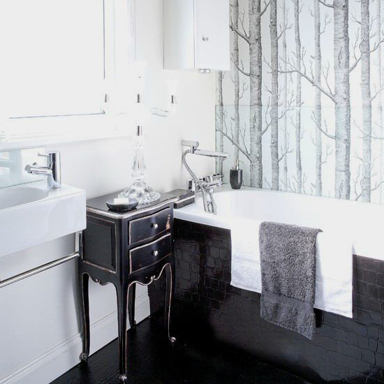 1000  images about Bathroom ideas Black  amp  White on Pinterest   Horns  Trees and Tan walls. 1000  images about Bathroom ideas Black  amp  White on Pinterest