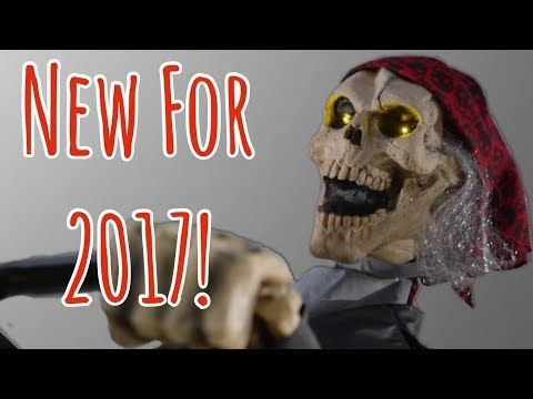 NEW HOME DEPOT HALLOWEEN PROPS   New for 2017 - YouTube ...