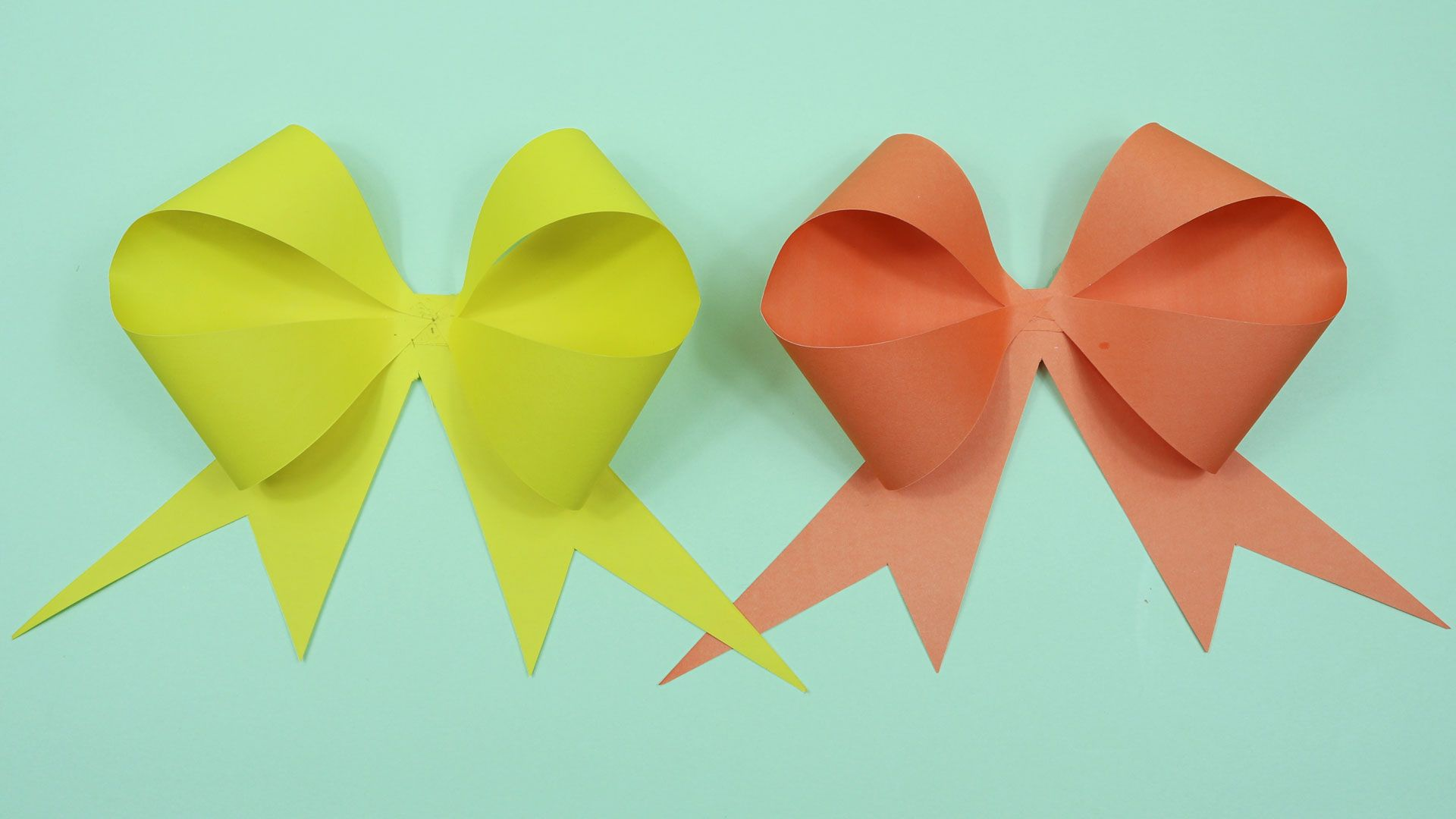 paper bow diy! | Origami bow, Cute origami, Paper bow | 1080x1920