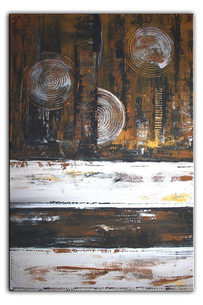 burgstaller leinwand bild abstrakte malerei quer hochformat braun silber 80x120 abstrakt druckbilder fotocollage auf