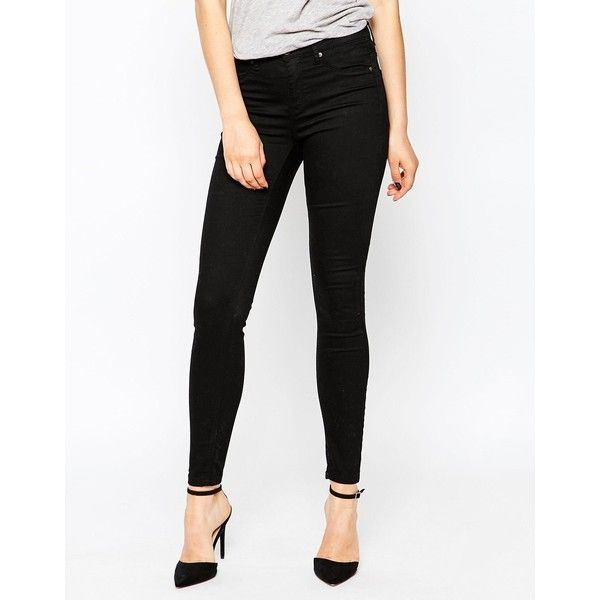 Selected Gaia Jeggings (155 BRL) ❤ liked on Polyvore featuring pants, leggings, black, skinny jean leggings, black jean leggings, jean leggings, high waisted jeggings en jeggings leggings
