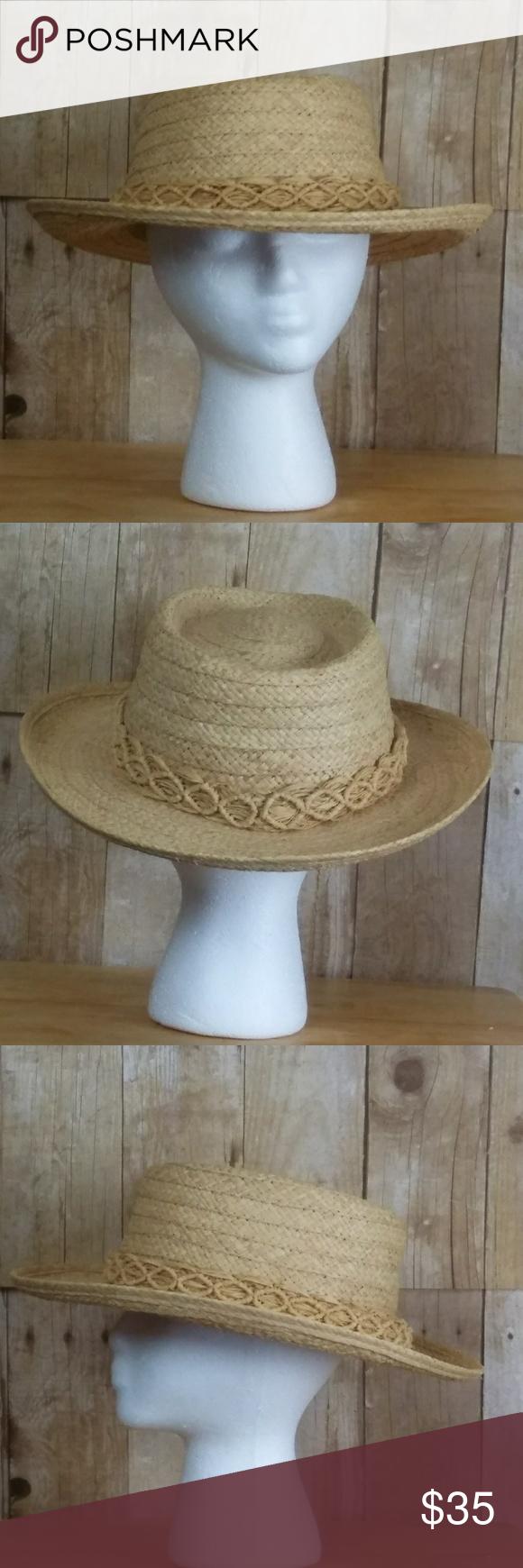 Genuine Raffia Dorfman Pacific Hat Size L Xl Hat Sizes Clothes Design Fashion Tips