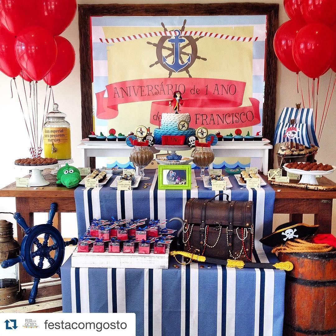 Inspiração no Tema Pirata que eu amo!! #Repost @festacomgosto with @repostapp. ・・・ Hoje nossa festa querida de Piratas de Neverland está toda detalhada e linda lá no blog! Corre lá: festacomgosto.blogspot.com.br #festacomgosto #piratas #terradonunca #capitaogancho #gancho #festainfantil #aniversarioinfantil #decorandofestas #mesadedoces #bolodecorado #docesdecorados #tudolindo #fiestasinfantiles #cumpleaños #cumpleinfantil #decoracion #partydecor #partyideas #birthdaycake #birthdayparty…