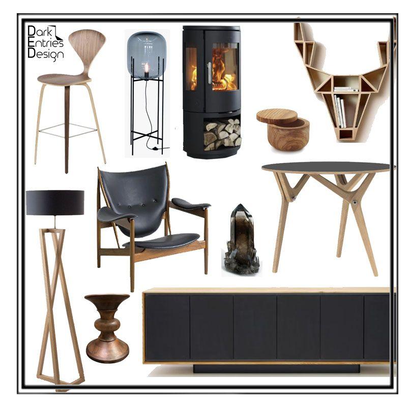 Smallspace Decor: Lux Lodge #DarkEntriesDesign #EDesign #InteriorDesign