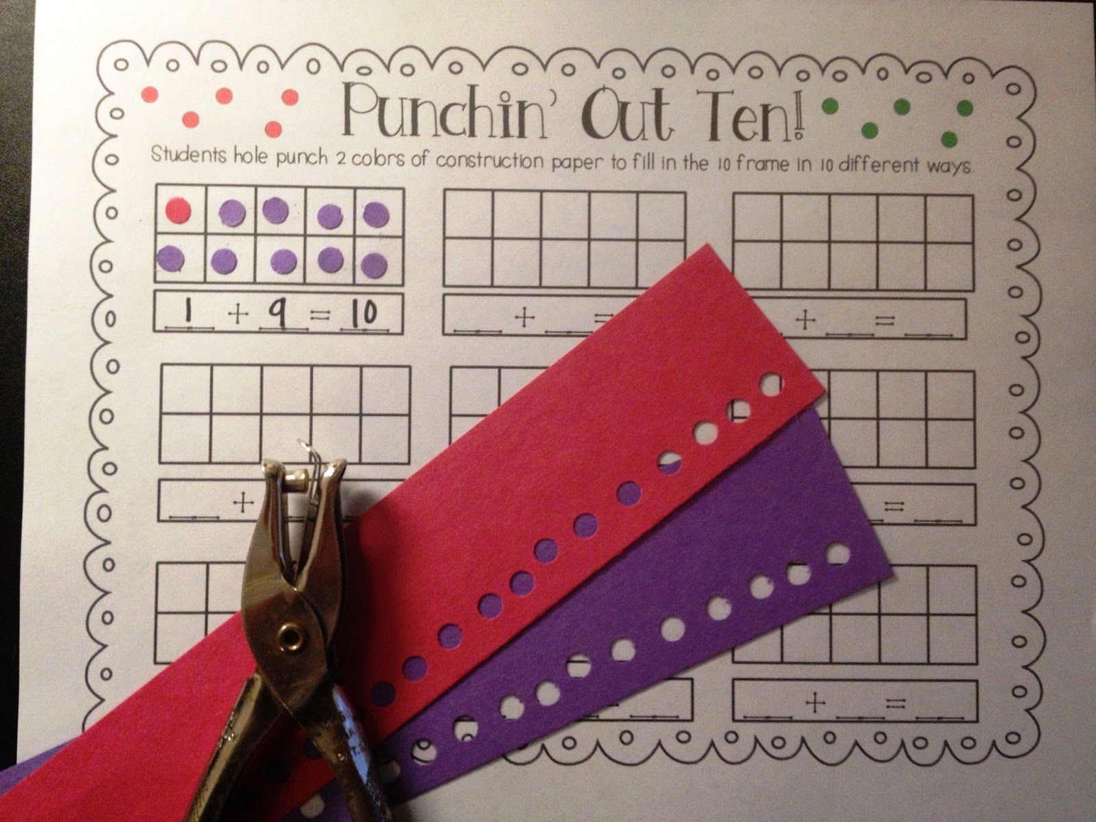 Tunstall S Teaching Tidbits Sunday Funday Love This Idea Could Use Stickers Or Fancy Punches